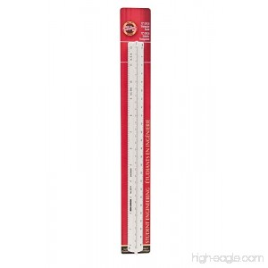 Koh-I-Noor Engineer Triangular Scale Student-Grade 12 Inches 1 Each (3274BC) - B004VMWS12