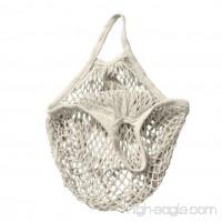 Net Shopping Bag  Hmlai Reusable Mesh String Bag Handbag Totes Organizer for Grocery Shopping  Beach  Toys  Storage  Fruit  Vegetable (White) - B07DHHMRBX