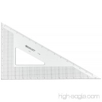 "Westcott Grid Triangle  14""  30/60 Degree  Transparent (T-14M) - B004O7D00C"