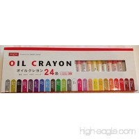24 Oil Crayons From Daiso Japan - B00BL9JWWG