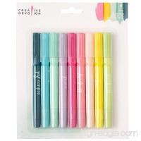 American Crafts 9 Piece Gel Crayons Creative Devotion - B076H8FRQF
