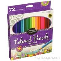Cra-Z-Art Timeless Creations Adult Coloring: 72ct Colored Pencils (10456PDQ-24) - B018RMBLUU