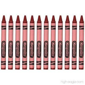 Crayola 52-0836-038 Single Color Crayon Refill 5/16 x 3-5/8 Size Standard Red - B0044SAVAI