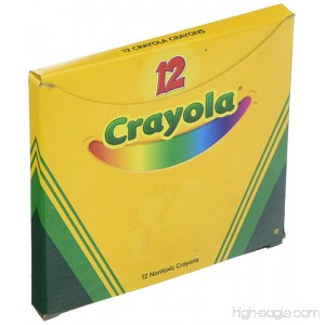 Crayola 52-0836-052 Single-Color Crayon Refill 5/16 x 3-5/8 Size Standard Gray - B0044S8ZQU
