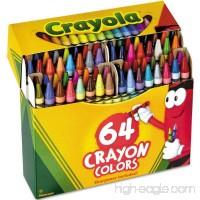 Crayola Crayons 64 ea (Pack of 3) - B014VGI7NA