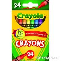 Crayola Crayons (Set of 24 Each) - B00004TTI6