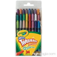 Crayola Mini Twistable Crayons 24 in a Box (Pack of 4) 96 Crayons in Total - B005NF3RR0