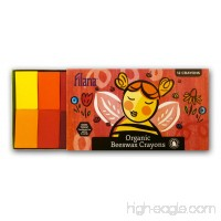 FIlana 12 Blocks - Certified Organic Beeswax Crayons  Handmade in the US - No Icky Ingredients - B018SWCXKQ
