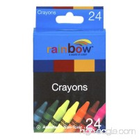 Promarx Rainbow Crayons  Assorted Colors  24 Count - B0032AN01Q