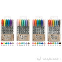 Ranger Tim Holtz Distress Crayons Bundle: Sets 4 5 6 7 - B01M9J78B5