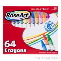 RoseArt 64-Count Crayons Packaging May Vary (CYR96) - B003BMOXTS