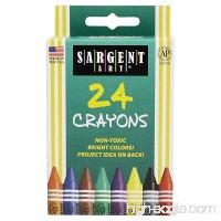 Sargent Art 35-0534 24-Count Regular Crayon Peggable - B005V9UF0K