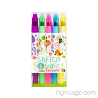 Scentco Spring Sketch & Sniff Scented Gel Crayons 5-Pack - B07736TMKR