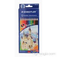 Staedtler Colored Pencils  12 Colors (Free Sharpener) - B00SJL5VAQ