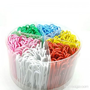 300 Pieces Paper Clips Assorted Colors 2 Inch Sizes - B074SJMY51