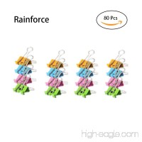 80 Pcs Colored Paper Clips with Cute Lovely Smiling Face  File Organizer Paper Holder Metal Binder Clips  Assorted Color (0.75 inch  2 Pack) - B07CPY8RCB