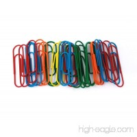 Honbay 36pcs Colorful Large Paper Clips Office Supply Accessories Multicolor Bookmark - B0754JTCBC