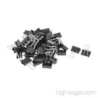 Vonpri 100Pcs Binder Clips Paper Clamp Black 1 inch (25 mm) Medium for Office Home Memo Notes File Organizer - B07DTDZ1KB