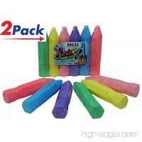 Chalk by (12 Count) by JA-RU   Chalks for Boards Sidewalks School (2 Packs of 6)   Item #3523-2 - B07F27GKPP
