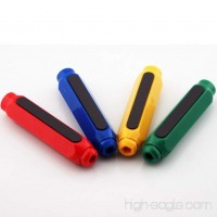 Dust-proof Environmental Protection Non-toxic Magnetic Double Spring Chalk Chalk Holder (Random Color) - B07DN9RLPW