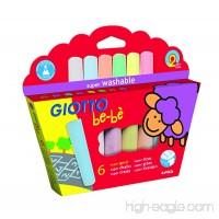 Giotto Be-bè 467300Super Chalk–6Pack - B00X7KPRVW