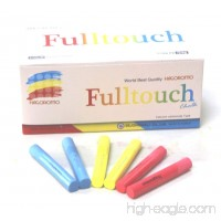 Hagoromo Fulltouch 3-Color Mix Chalk 1Box (72pcs) Red  Yellow  Blue - B01HDNVCPI