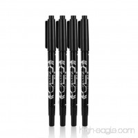 Nesix 4PCS Double Headed Mark Pen Animation Design Oiliness Office Learning Supplies (Black) - B07FTHQPZW