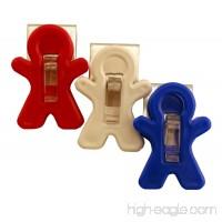 Adams Manufacturing All-American Magnet Man Clip 3-Pack - B000J0ASJY