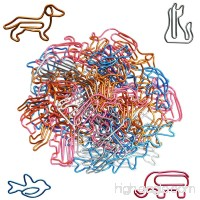 Paper Clips Small Sizes and Colors Assorted - Cute Animal Shapes Paperclips  Funny Office Supplies Gifts - B07BF5PM6W