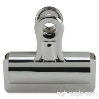 Sparco Bulldog Clip 1 Inches Cap Size 4 3 Inches Wide 12 per Box Silver (SPR58503) - B004XN6HNO