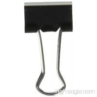 Universal 10200VP Small Binder Clips  Zip-Seal Bag  3/8 Capacity  3/4 Wide  Black  144/Bag - B00BYQ579I