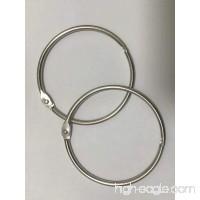 50 Pcs Metal Book Ring Binder 3-inch - B078KP174W