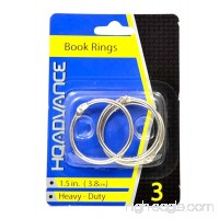 HQ Advance Products Book Rings 1 1/2-Inch (02004) - B003OZY53G