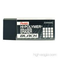 Pentel Hi-Polymer Ain Eraser Black - B00512BVBO