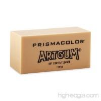 Prismacolor 73030 Design ArtGum Erasers  Beige  12-Count - B0006ZELR2