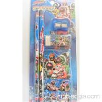 Uchu Sentai Kyuranger pencils sharpenser eraser seai - B074PRDB88