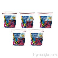 Alliance Brites File Bands (7 x 1/8 Inches) in Three Brite Colors - Resealable Bag - Made in the U.S.A. (250 bands) - B01N5DQ00L