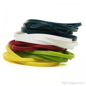Silicone Cooking Bands - Multi Color - 1 Unit - B0041HTBQ2