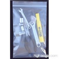 "1000 pieces 4x10"" 2 mil zip lock reclosable zipper poly bags - B00AVAW06Q"