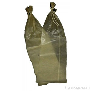 Fibrous Casings - 10 Per Bag - Clear - 2.5 Inches By 20 Inches - B00BEZJNTY