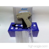 "Garment CLOTHING PRICE LABEL TAGGING TAGGER GUN WITH 5000 pins barbs FASTENER 2"" - B0741ZW92Q"