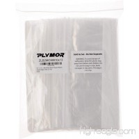 "Plymor 10"" x 13""  2 Mil (Pack of 100) Zipper Reclosable Plastic Bags w/White Block - B003ZZSC2A"