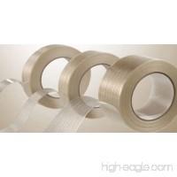 """12 Rolls Filament Reinforced Tape 2"""" x 60 Yards 3.9 Mil Fiberglass Packing - B00EFUI84G"""