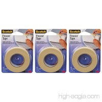 "3M 178 ¾"" x 1100"" Freezer Tape pack of 3 - B072LMG1Q7"