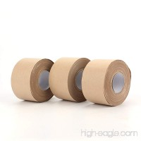 Fasmov Kraft Paper Tape  Shipping Packaging Tape Ideal for Sealing and Packaging- 2.4 Inches x 114 Feet(Pack of 3) - B01ER4QD4G