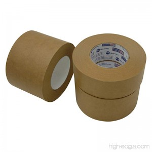 Intertape 530 Utility-Grade Flatback Packaging Tape: 1 in. x 60 yds. (Brown) - B00T6JZC0E