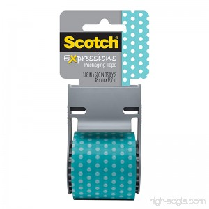 Scotch Decorative Shipping Packaging Tape 1.88 x 500 Inches - B007Z92RQ4
