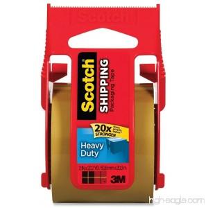 Scotch Heavy Duty Shipping Packaging Tape 1.88 Inch x 800 Inch [Tan] (Pack of 4) - B00N2HX7V2