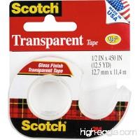 """3M 144 1/2"""" x 500"""" Scotch® Transparent Tape - B00JKQ3YAS"""