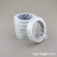 "6 - 3/4"" x 2 592"" (72 yds) Crystal Clear Transparent Tape  Fits 3"" Core - B015T934BI"